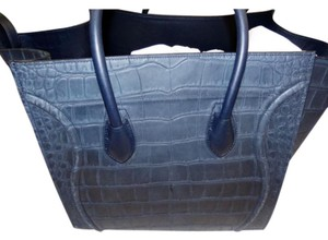 Cline Medium Phantom Luggage Tote in Navy blue