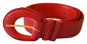Milor Milor 11608 ML red genuine leather belt