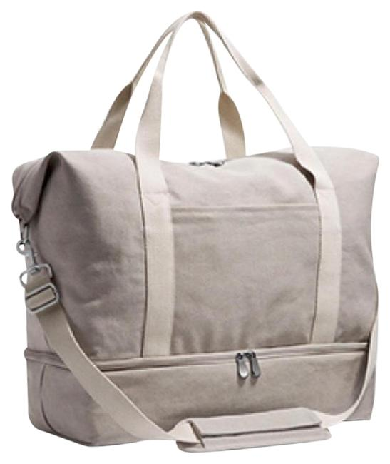 Item - Catalina Deluxe Large Dove Grey Canvas Weekend/Travel Bag