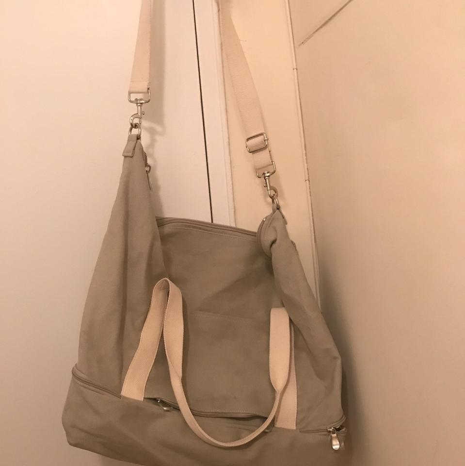 4a59e0adc0 Lo   Sons Catalina Deluxe Large Dove Grey Canvas Weekend Travel Bag ...