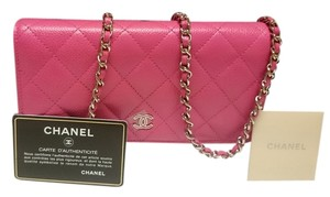 bcc4c8d973f9 Chanel Wallet On Chain Bags - Up to 70% off at Tradesy