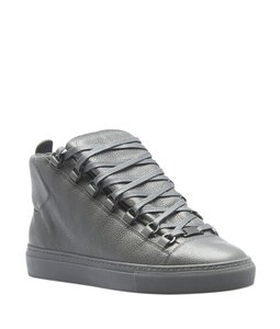 Balenciaga Sneakers Leather Grey Formal