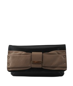 Chloe Leather Black Clutch