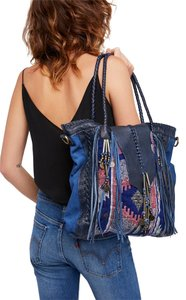 Free People Tote in Blue