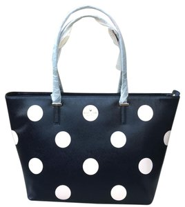 Kate Spade Tote in Rich Navy/Ballet Pink