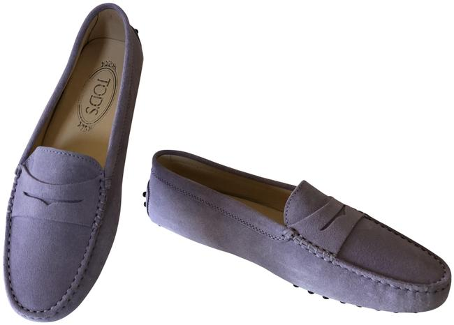 Item - Lilac Classic Gommini Suede Driving Moccasin Flats Size EU 37.5 (Approx. US 7.5) Regular (M, B)