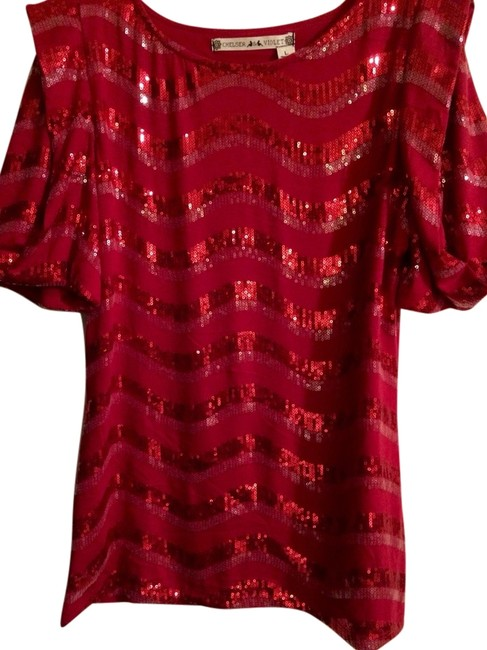 Preload https://item1.tradesy.com/images/chelsea-and-violet-top-red-2159940-0-0.jpg?width=400&height=650