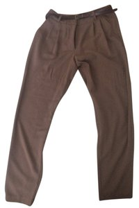Forever 21 Trouser Pants Tan/Khaki