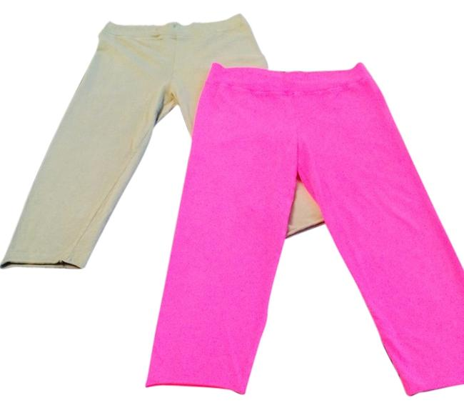 Preload https://item3.tradesy.com/images/michael-stars-army-green-and-hot-pink-leggings-size-4-s-27-2160012-0-0.jpg?width=400&height=650