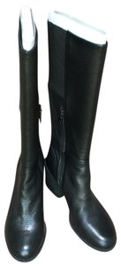 Splendid Tall Leather Black Boots