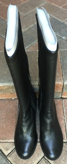 Splendid Tall Leather Black Boots Image 2