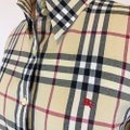 Burberry Button Down Shirt Multi Color Image 1