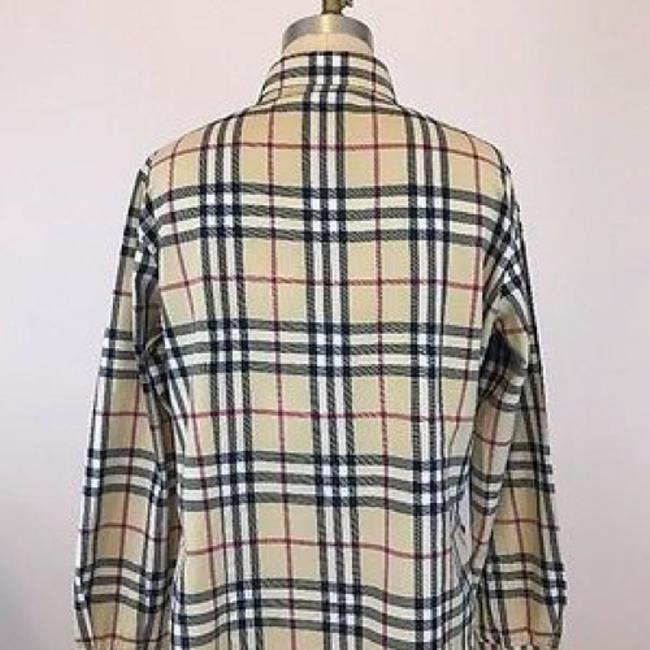 Burberry Button Down Shirt Multi Color Image 3