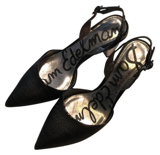 Preload https://img-static.tradesy.com/item/21600495/sam-edelman-black-with-metallic-silver-heel-slingback-pumps-size-us-65-regular-m-b-0-1-540-540.jpg
