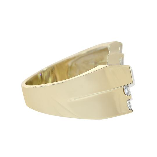 Avital & Co Jewelry 1.25ct Baguette Cut Diamonds Channel Setting Mans Ring 14K Yellow Gold Image 1