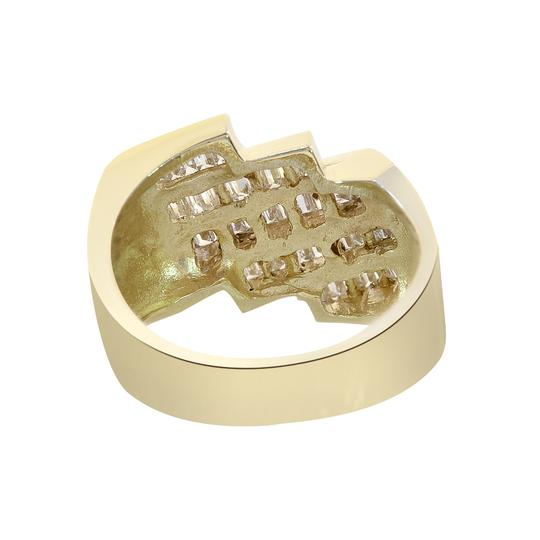 Avital & Co Jewelry 1.25ct Baguette Cut Diamonds Channel Setting Mans Ring 14K Yellow Gold Image 2