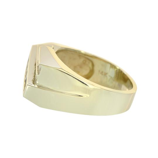 Avital & Co Jewelry 1.25ct Baguette Cut Diamonds Channel Setting Mans Ring 14K Yellow Gold Image 3