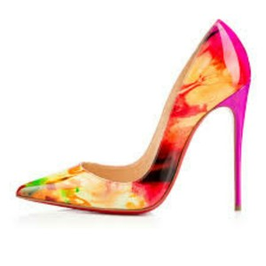 Christian Louboutin Tie Dye Pumps