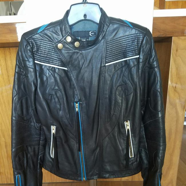 Roberto Cavalli Leather Jacket Image 1