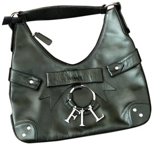 My Flat in London Leather Hobo Bag
