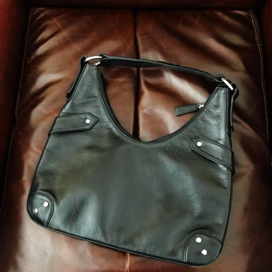 My Flat in London Leather Hobo Bag Image 2
