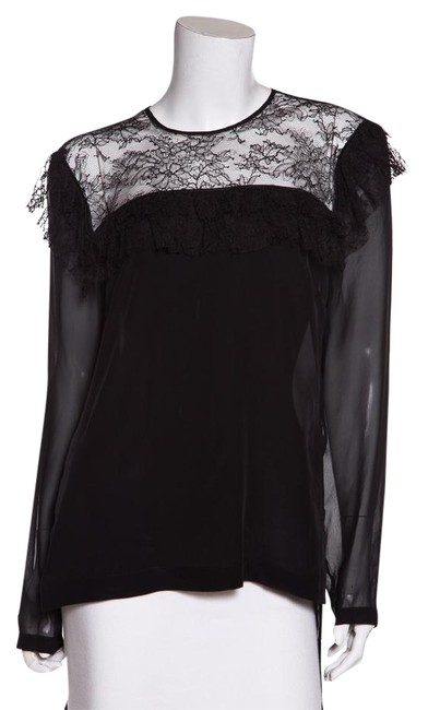 Preload https://img-static.tradesy.com/item/21602092/preen-by-thornton-bregazzi-black-silk-and-lace-detail-night-out-top-size-12-l-0-1-650-650.jpg