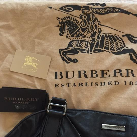 Burberry Prorsum Satchel in Black Image 8