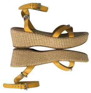 Prada yellow Sandals