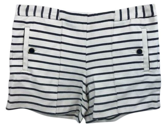 Item - White and Navy Shorts Size 8 (M, 29, 30)