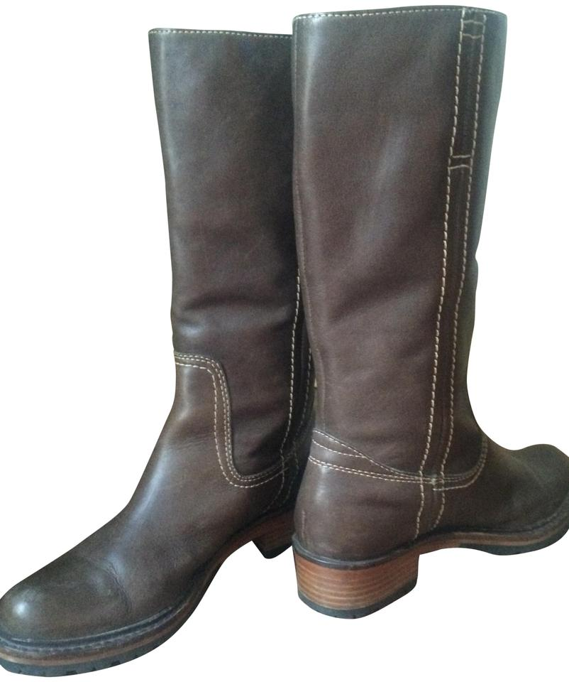 Frye Brown Boots/Booties Millie Campus Pull On Boots/Booties Brown 1b412f