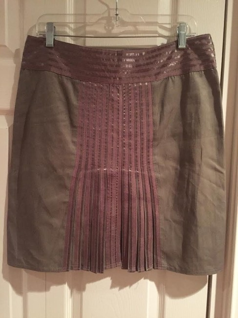 Sisley Skirt Green/Brown Image 1