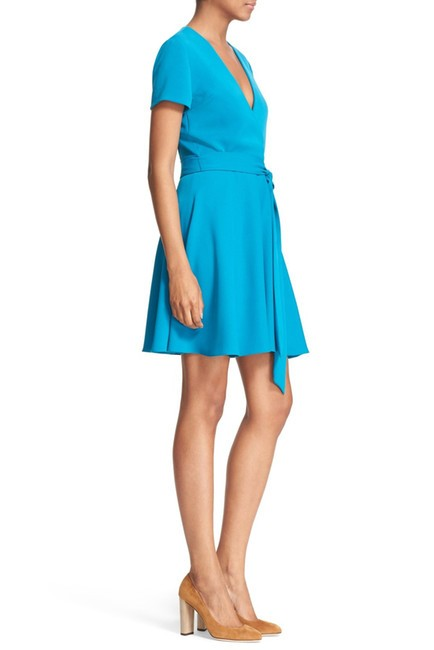 Alice + Olivia short dress Dark Turquoise A-line Career Summer on Tradesy Image 1