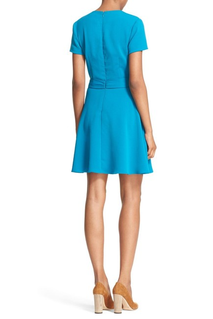 Alice + Olivia short dress Dark Turquoise A-line Career Summer on Tradesy Image 2
