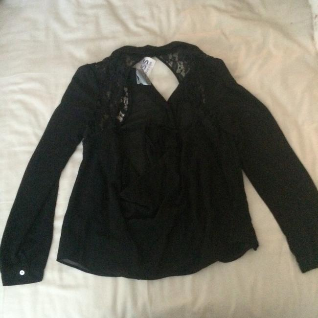Other Backless Top Black/Lace