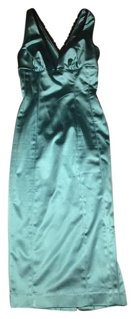 Item - Ligh Blue Mid-length Night Out Dress Size 0 (XS)