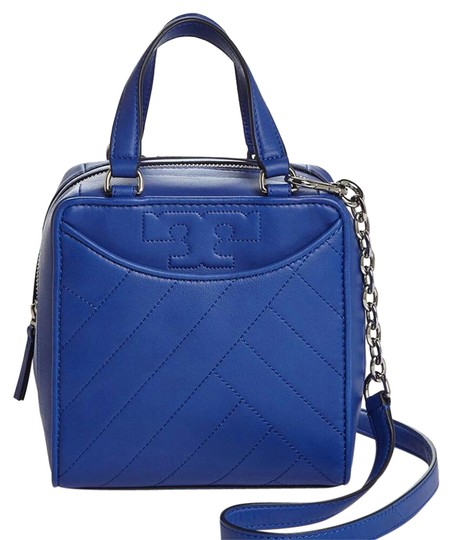 Tory Burch Satchel in songbird blue Image 0