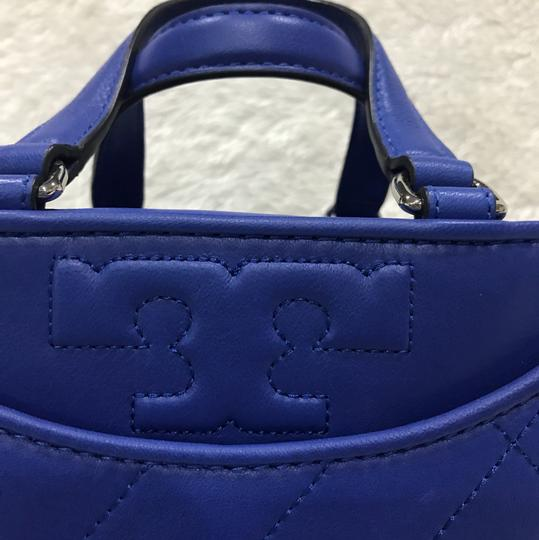 Tory Burch Satchel in songbird blue Image 3