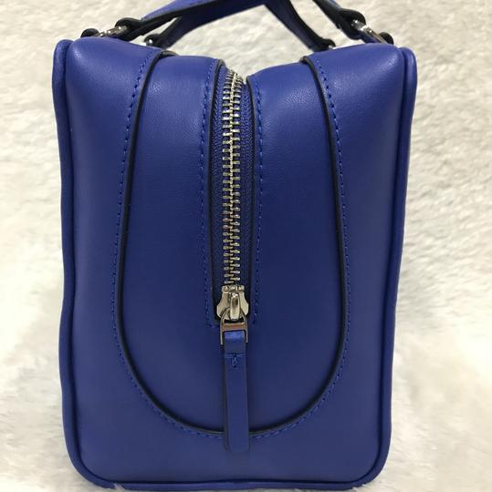Tory Burch Satchel in songbird blue Image 4
