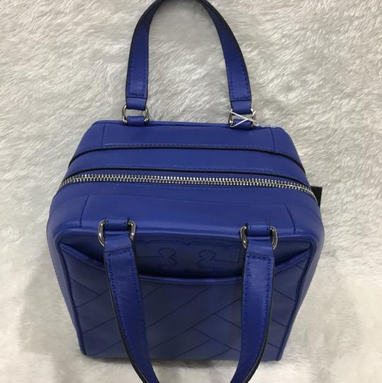 Tory Burch Satchel in songbird blue Image 5