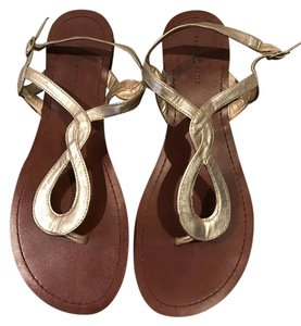 Kelly & Katie Gold Sandals