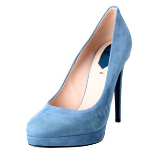 Fendi Blue Pumps