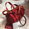 Chloé Satchel in Holly Berry Image 1