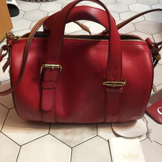 Chloé Satchel in Holly Berry Image 3