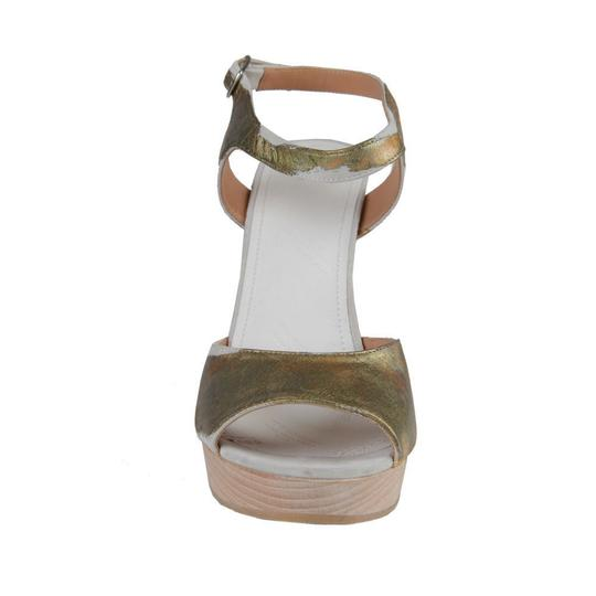 Maison Margiela Gold Wedges Image 3