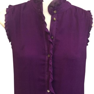 8ada9ad4450e59 Purple J.Crew Blouses - Up to 70% off a Tradesy
