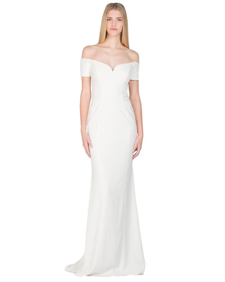 Badgley Mischka Ivory Style #eg1942 Evening Gown Msrp Long Formal ...