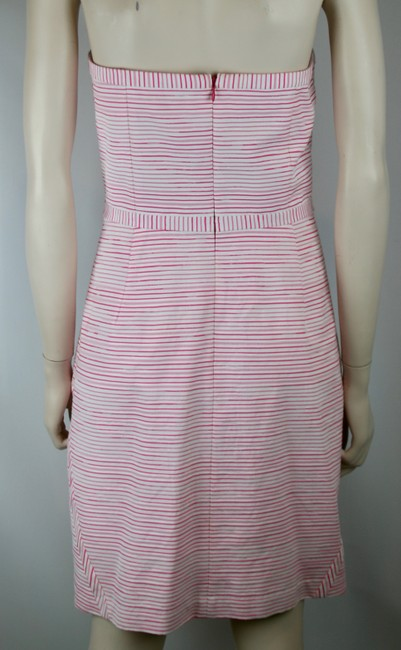Vineyard Vines short dress PINK WHITE Striped Bows Strapless Sundress Cotton on Tradesy Image 3