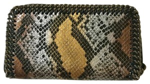 Stella McCartney Wristlet in Black, gold, silver