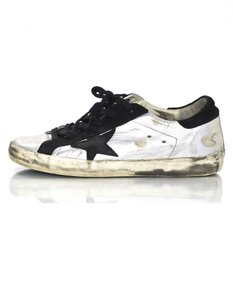 Golden Goose Deluxe Brand Ggdb Sneakers Distressed Worn silver Athletic
