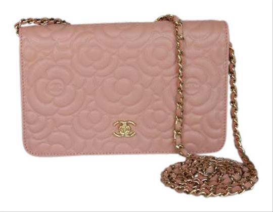 427f141791bc Chanel Wallet On A Chain Light Pink Camellia | Stanford Center for ...